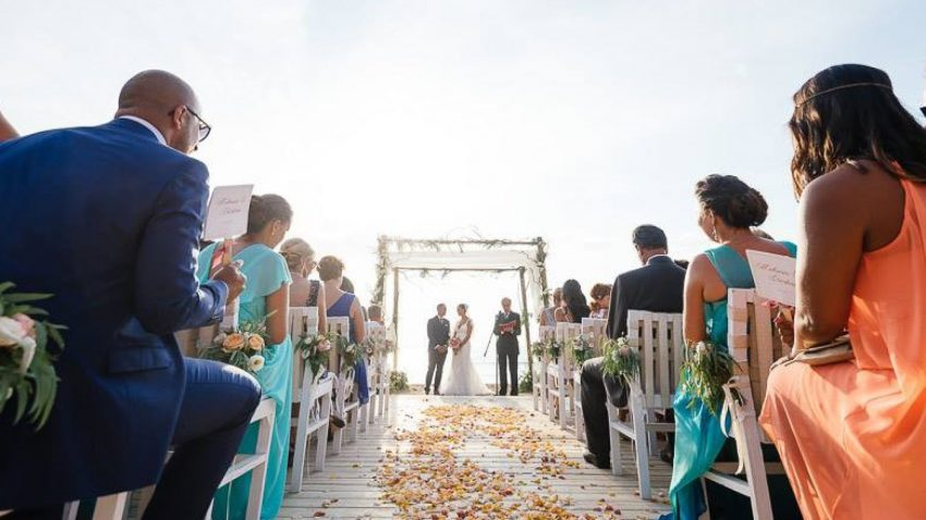 Beach wedding in Athens, Greece