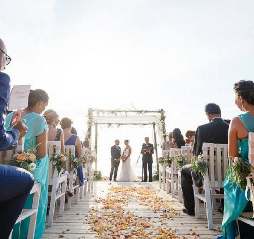 Beach wedding in Athens, Greece