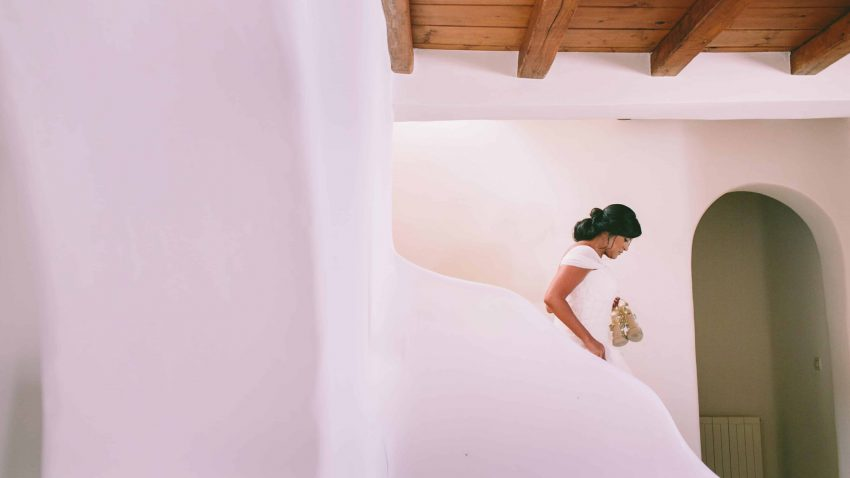 A Lebanese boho wedding in Mykonos, Greece