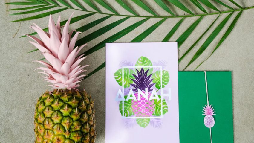 Pineapples and Tropics christening