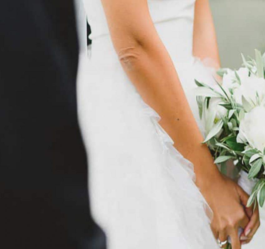 Modern wedding at Island, Varkiza