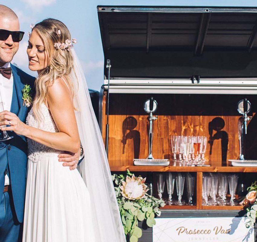 Modern Elegance: A marble & copper wedding