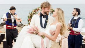 Elegant beach wedding with bohemian charm in Crete RPS EVENTS 5
