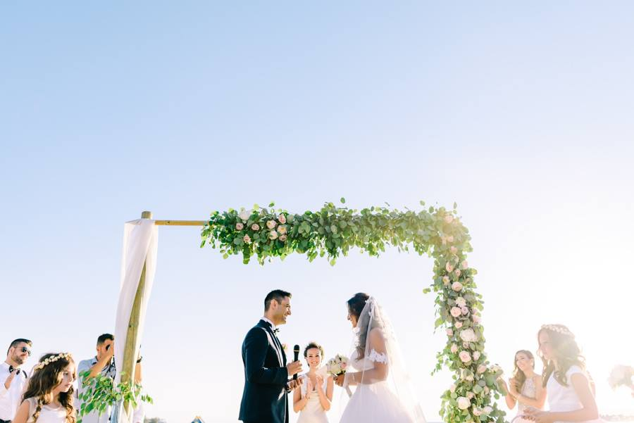 Beach Wedding in Athens by Rock Paper Scissors Events in Greece