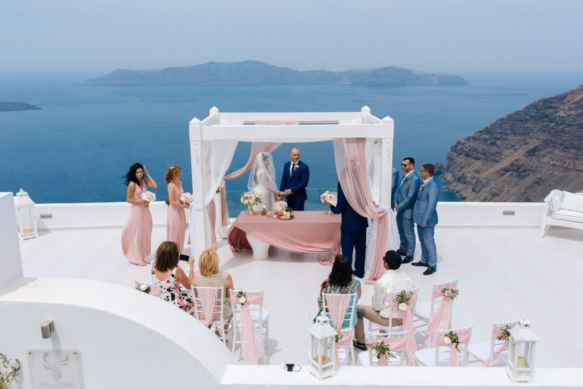 Planning a micro wedding in Greece