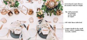How-to-Set-a-Copper-Marble-Table-Decor-by-Rock-Paper-Scissors-Events-11 5