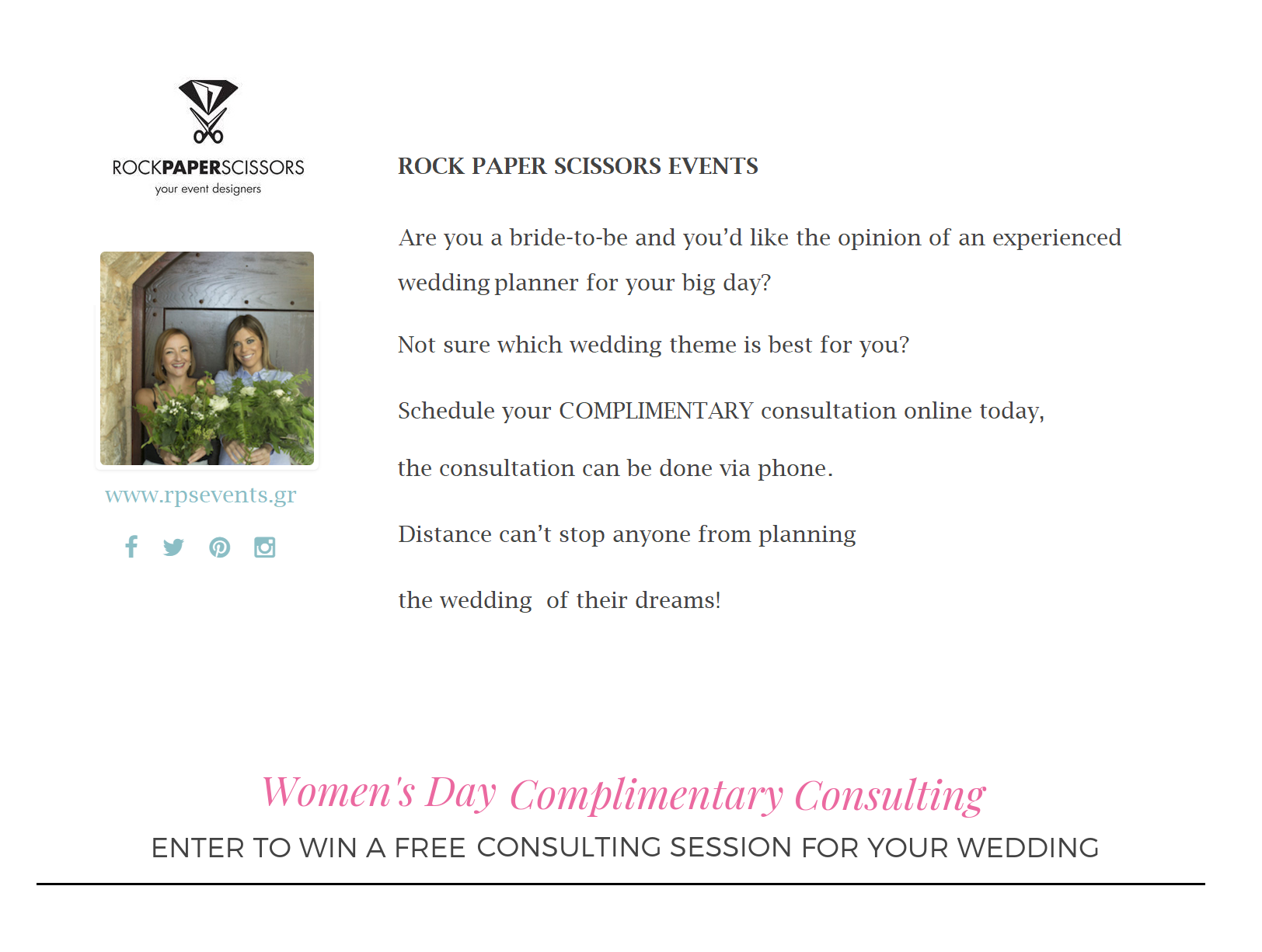 Win a Free Wedding Planning Consultation 5
