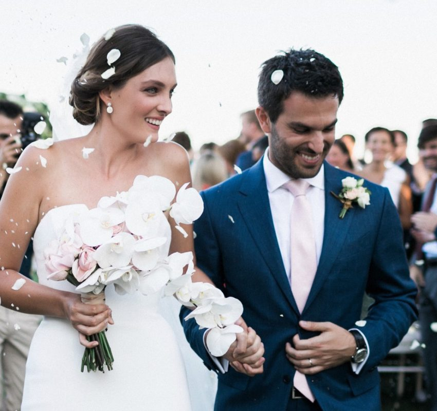 Timeless All-White Luxury Wedding in Athens