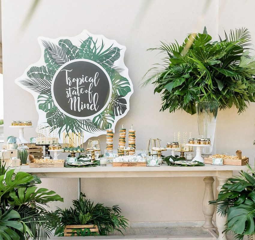 Chic Colonial Style Christening at Golf Prive
