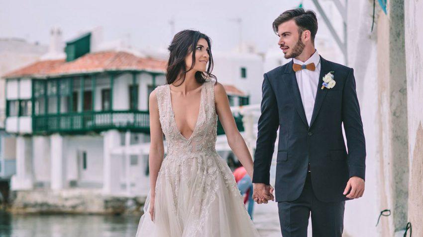Destination Weddings in Mykonos