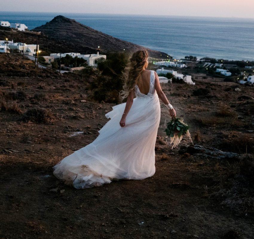 Chic Bohemian Vibes Wedding in Tinos Island