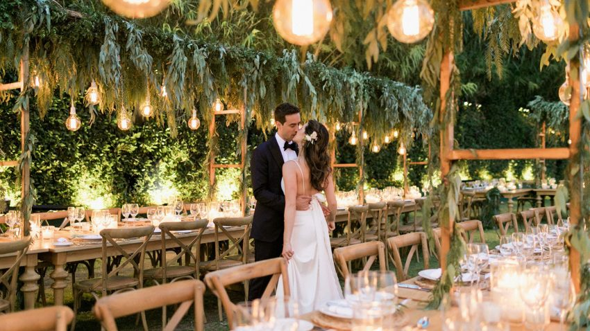 Elegant Garden Inspired Wedding in Athens