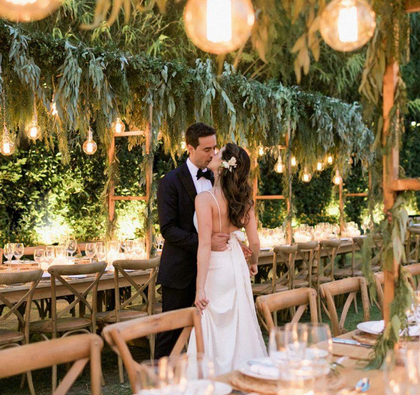Elegant Garden Inspired Wedding in Athens