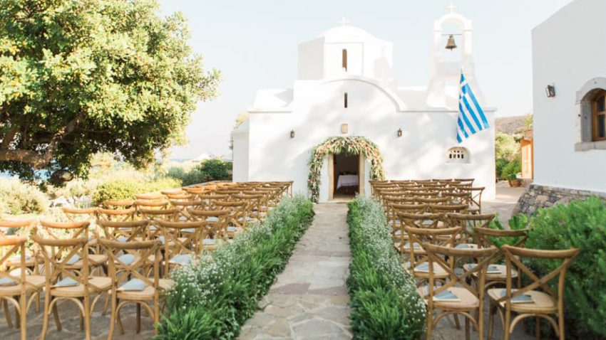 Wedding in Elounda, Crete
