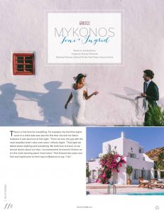 RPS EVENTS Lebanese Boho Wedding in Mykonos Destination I Do magazine 1 5