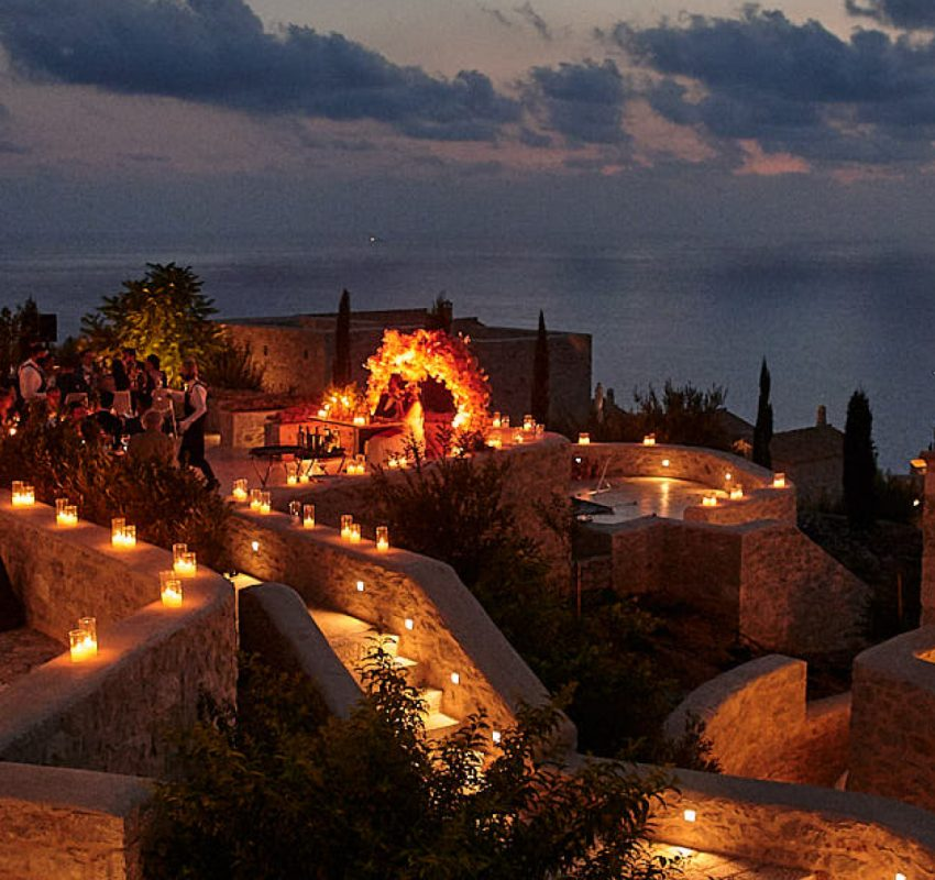 A picturesque fall wedding in Mani Peninsula
