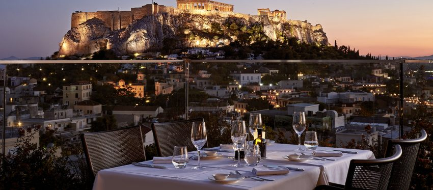 Best rooftop bars with Acropolis view in Athens